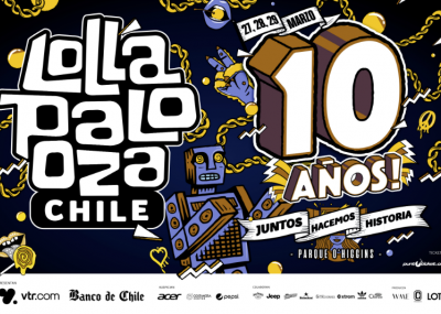 Lollapalooza fija fechas de su décima edición en el país